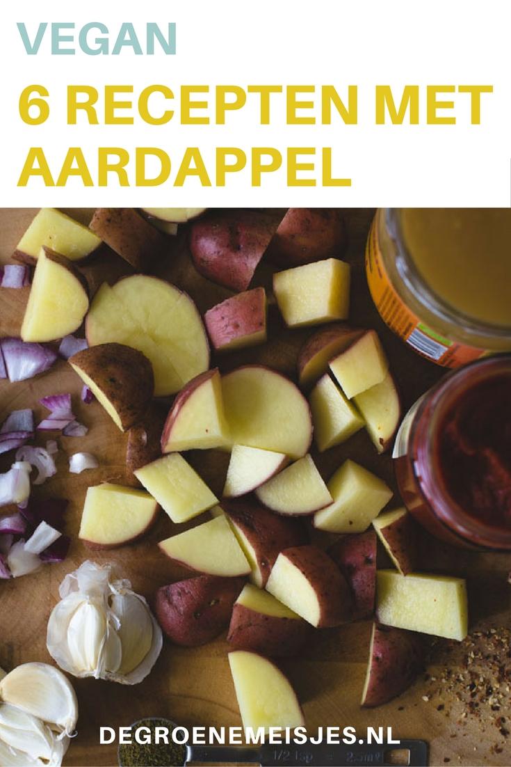 6 totaal verschillende recepten met aardappels. Power to the Pieper. Lees mijn zes favoriete manieren om aardappels in maaltijden te verwerken. En het valt je misschien op dat ik dan meestal zoete aardappel gebruik, omdat ik die heel erg lekker vind, maar je kunt ook voor gewone piepers kiezen. Gaat net zo goed!