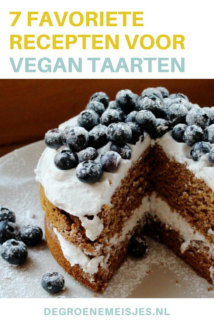 MAak zelf deze vegan taarten omdat taart altijd kan. Ik geef je mijn 7 favoriete recepten.