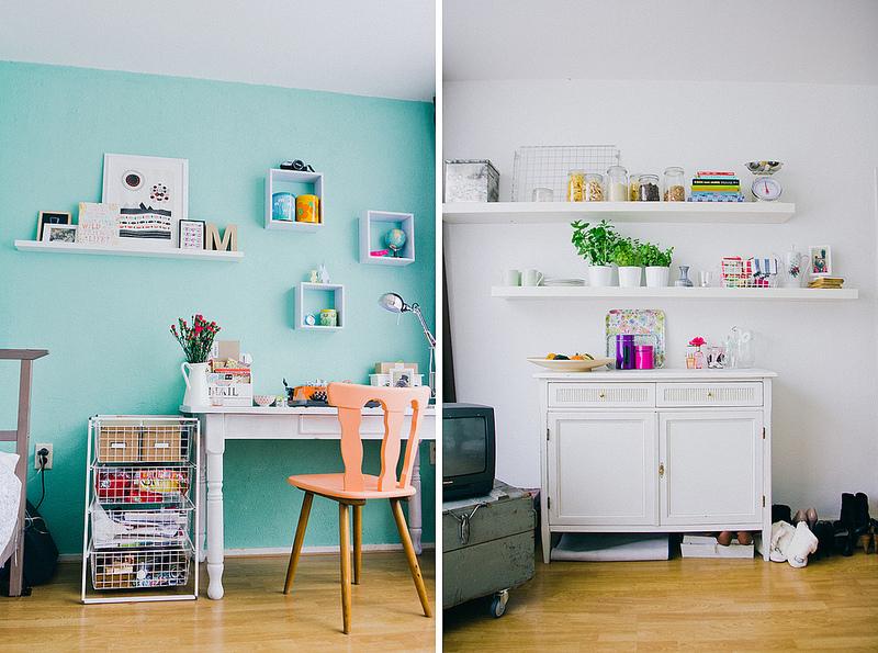 Tweedehandsliefde in je studentenkamer de groene meisjes - Verf haar woonkamer ...