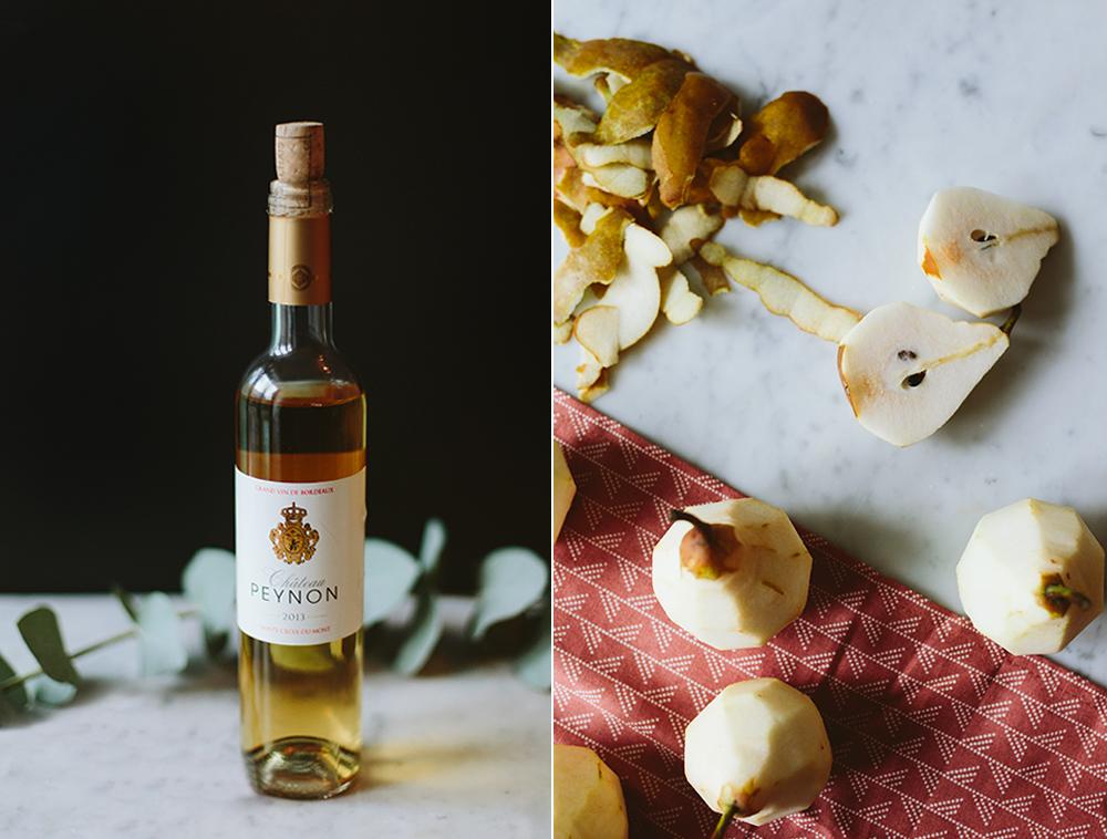 Wijn Bewaren Huis : Witte stoofpeertjes met dessertwijn en jasmijnthee de groene meisjes