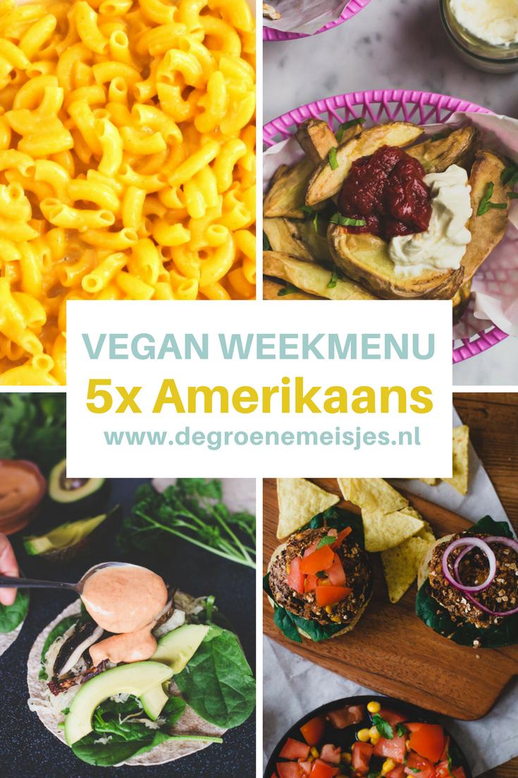 5 Amerikaanse vegan recepten van de groene meisjes met o.a. Reuben Zuurkool wraps, Zwarte bonenburgers, Maissoep, Vegan Mac and Cheese
