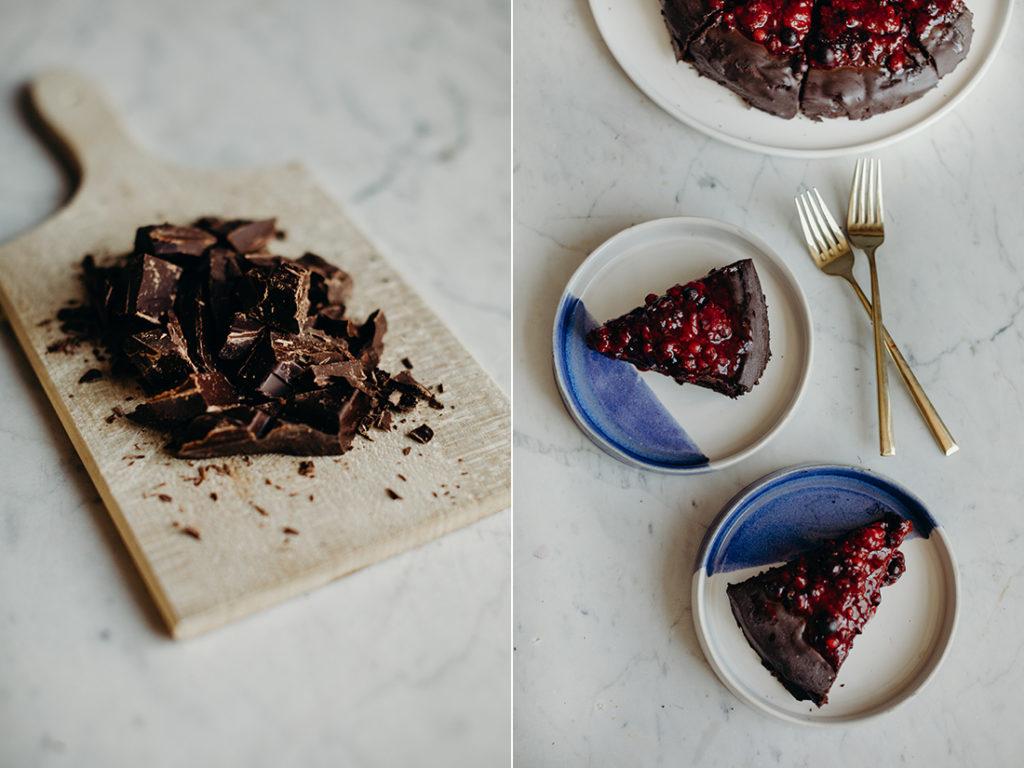 vegan chocoladetaart