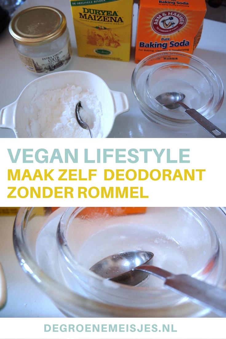 DIY: deodorant | De Groene Meisjes