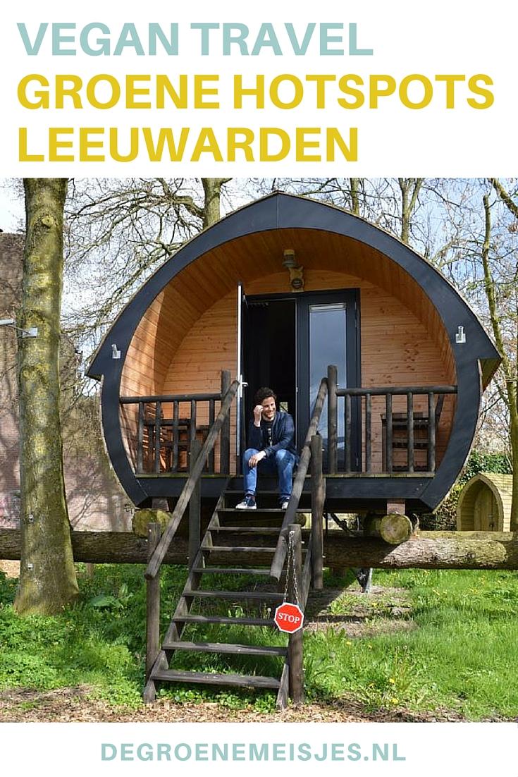 Merlin en Karta hadden een top weekend in Leeuwarden en verzamelden voor ons de leukste groene hotspots. Lees hun tips over een bijzonder overnachting en de leukste adresjes op de blog.