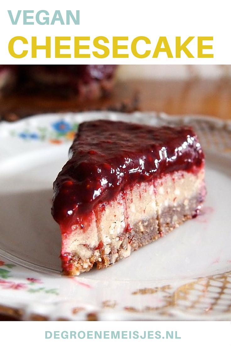 vegansk cheesecake recept