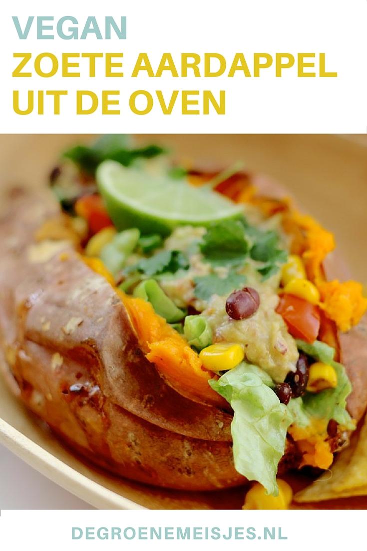 gerecht zoete aardappel oven