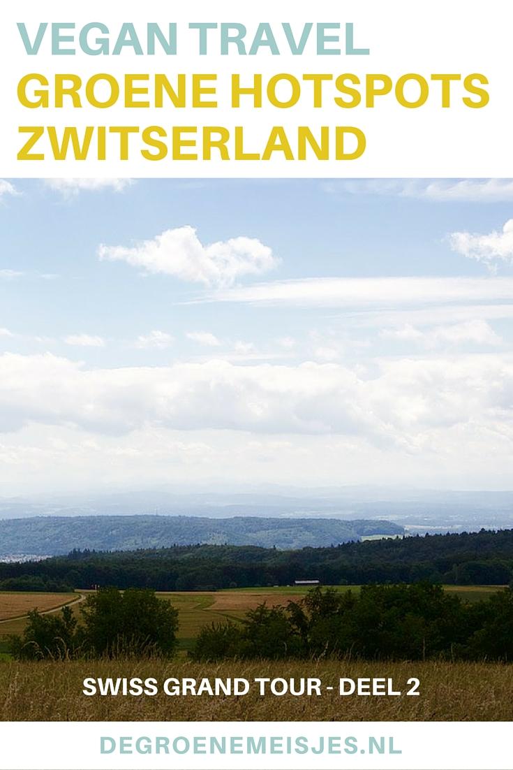 Swiss Grand Tour. Zwitserland, Schaffhausen. Een prachtige rit met uitzichten, koeien en heel veel bloemen. We deden een boottochtje langs de Rheinfallen, bekeken de watervallen en bezochten de kruidentuin bij het klooster. En aten natuurlijk heerlijk vegan. Lees alles over de leukste hotspots.