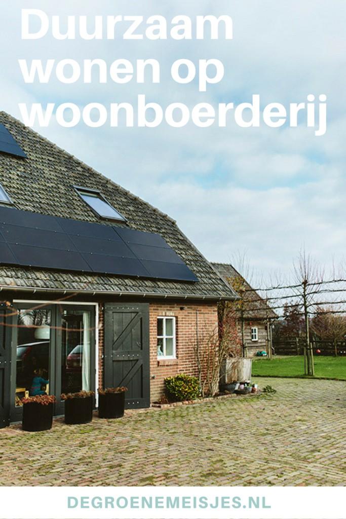 Duurzaam wonen op woonboerderij | zonneboiler | zonnepanelen | WTW Warmte Terugwin Unit | Hotfill | bouwmateriaal recyclen | FSC Hout | lees meer op de blog over duurzaam wonen
