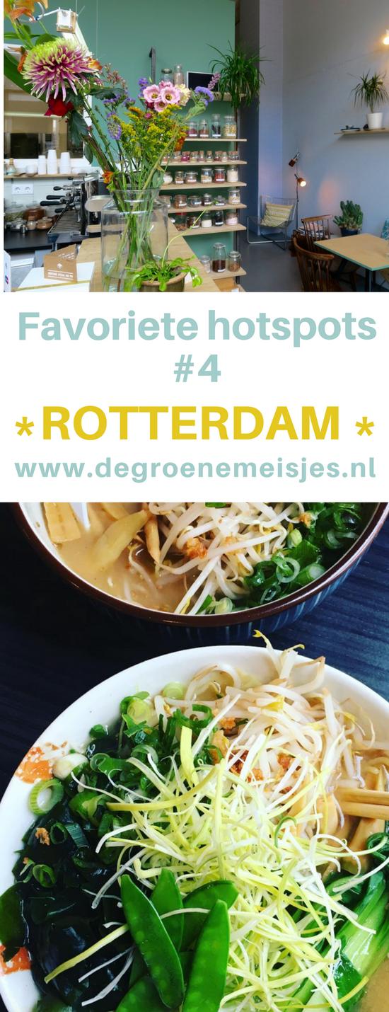 Rotterdam wordt steeds interessanter. Ook voor vegans! Graag deel Ik weer een aantal van mijn vegan friendly adressen en tips met je. Leuk voor een citytrip of weekendje weg