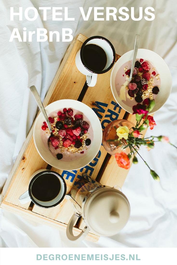 Tegenwoordig kies ik liever voor airbnb dan voor een hotelkamer. Het past beter bij me. In dit artikel leg ik uit waarom dat zo is.