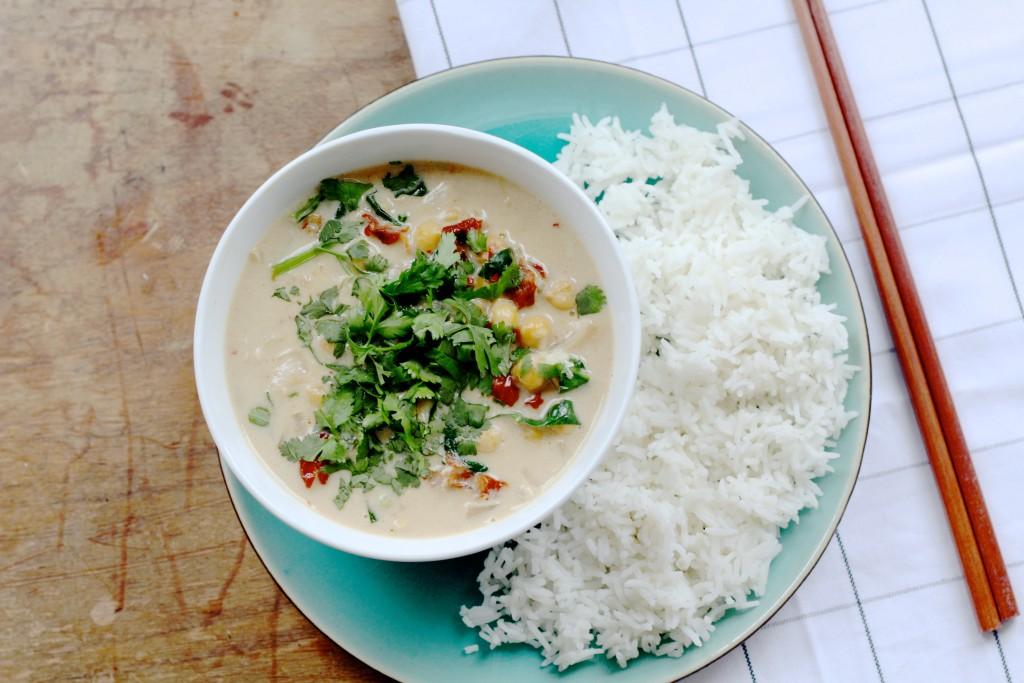 kokos curry
