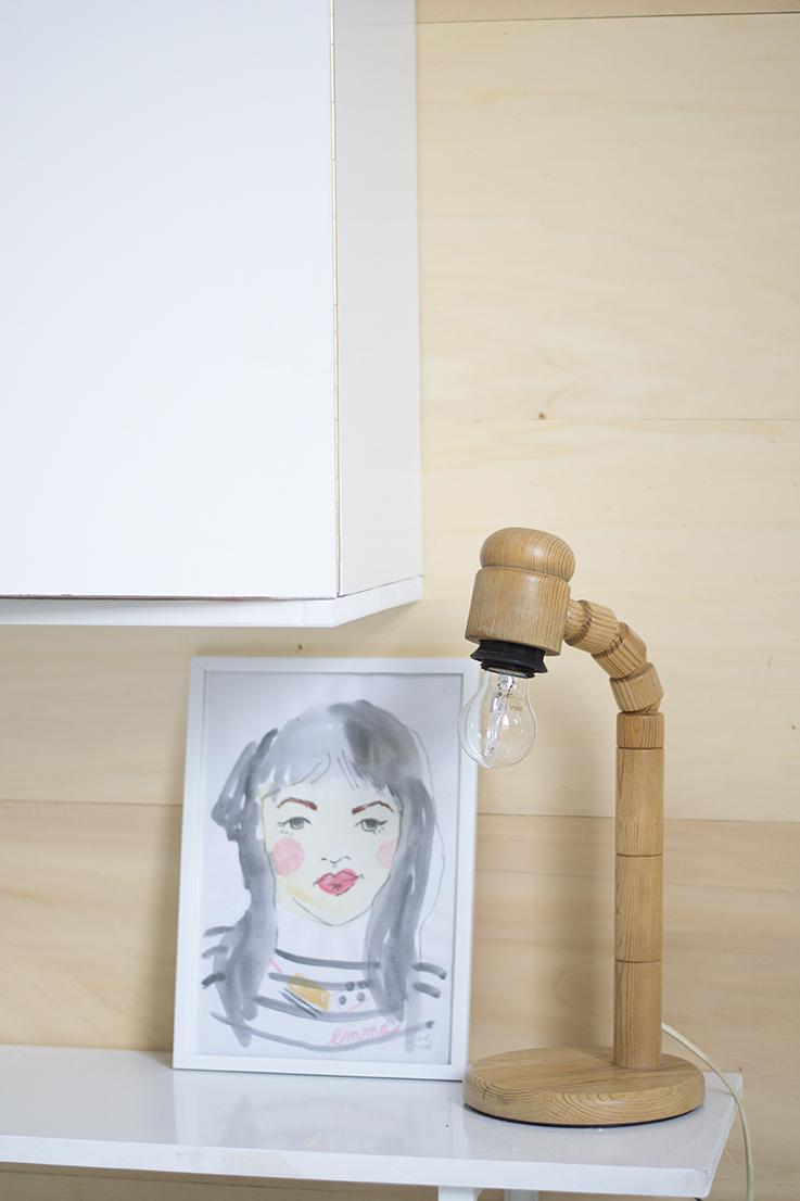 Lamp en tekening Marieke Heida crop