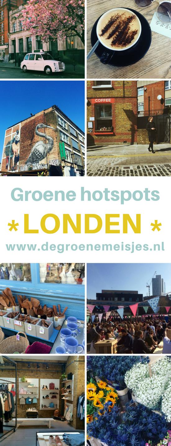 Groene hotspots voor een weekendje stedentrip londen van De Groene Meisjes