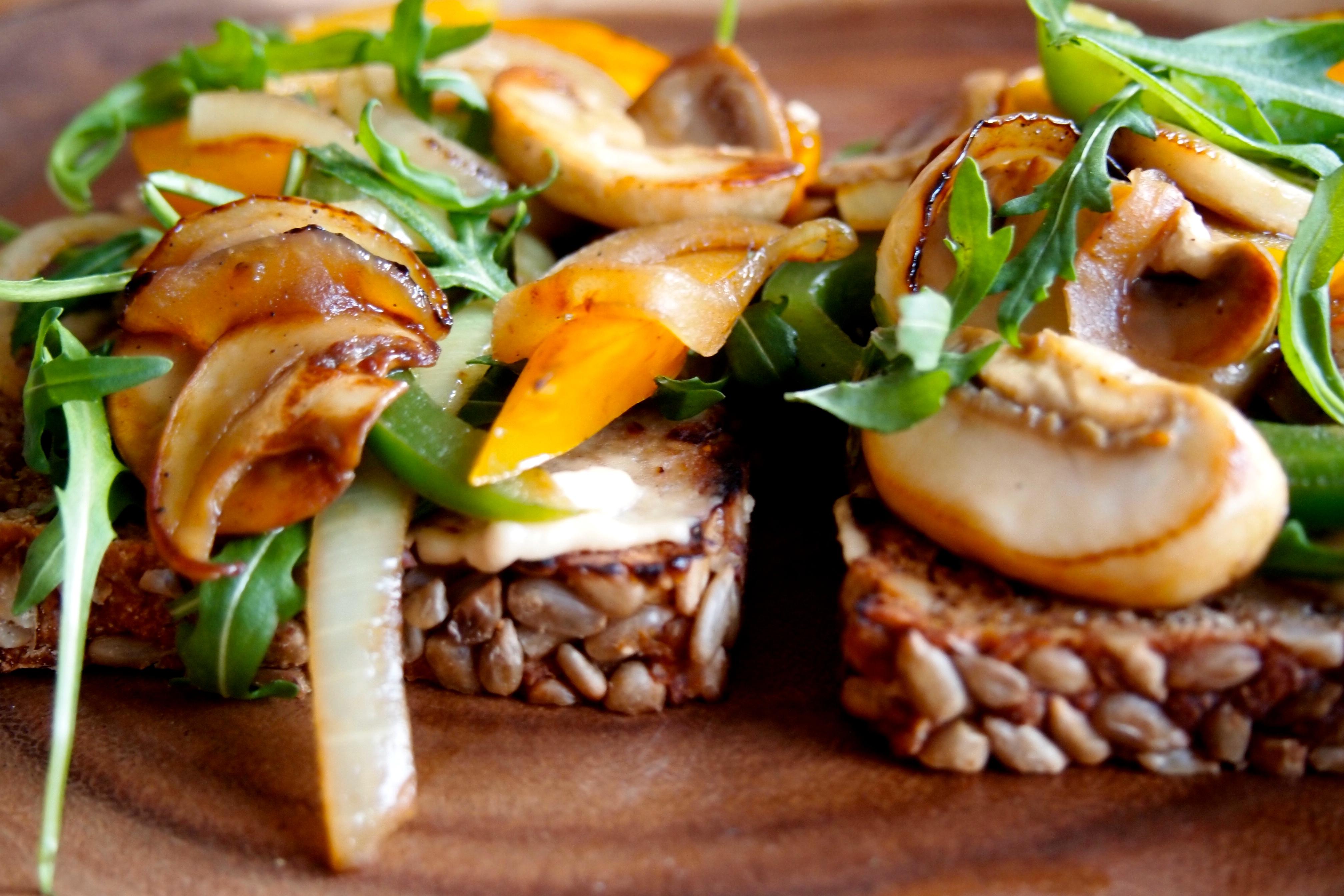Voorkeur Recept: broodje veggie-overload | De Groene Meisjes #HA62