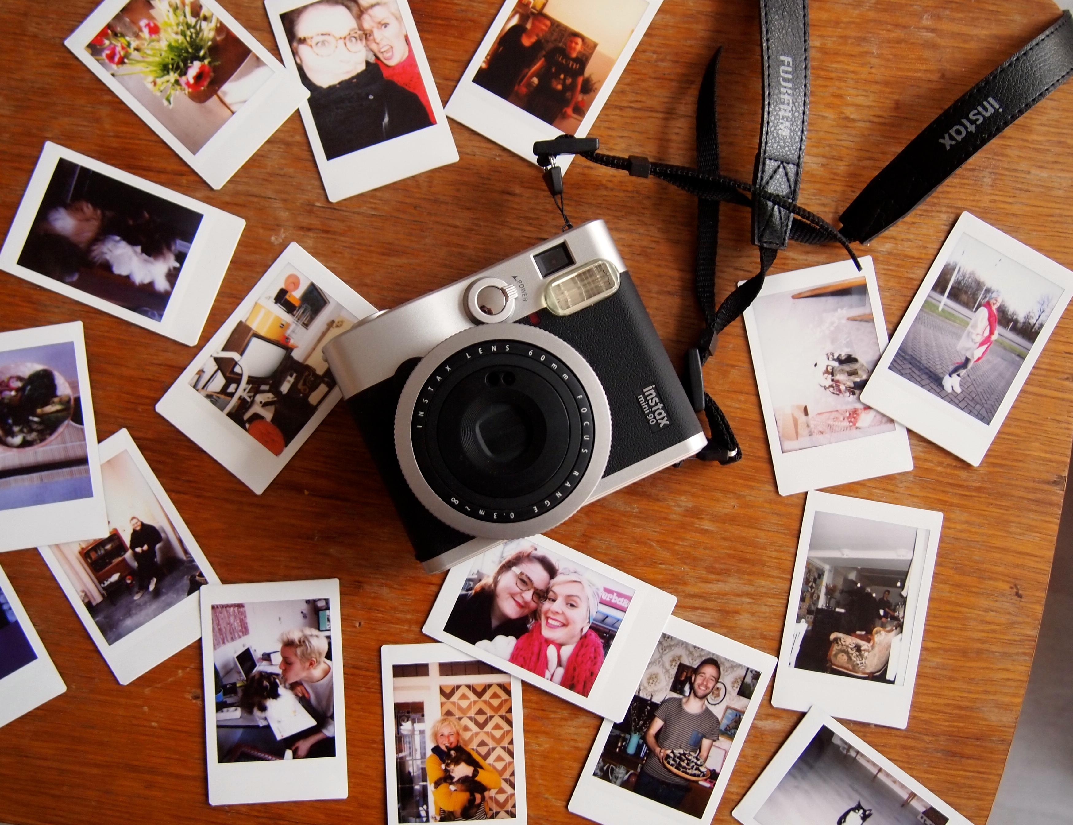 Review fujifilm instax mini 90 de groene meisjes - Foto in camera ...