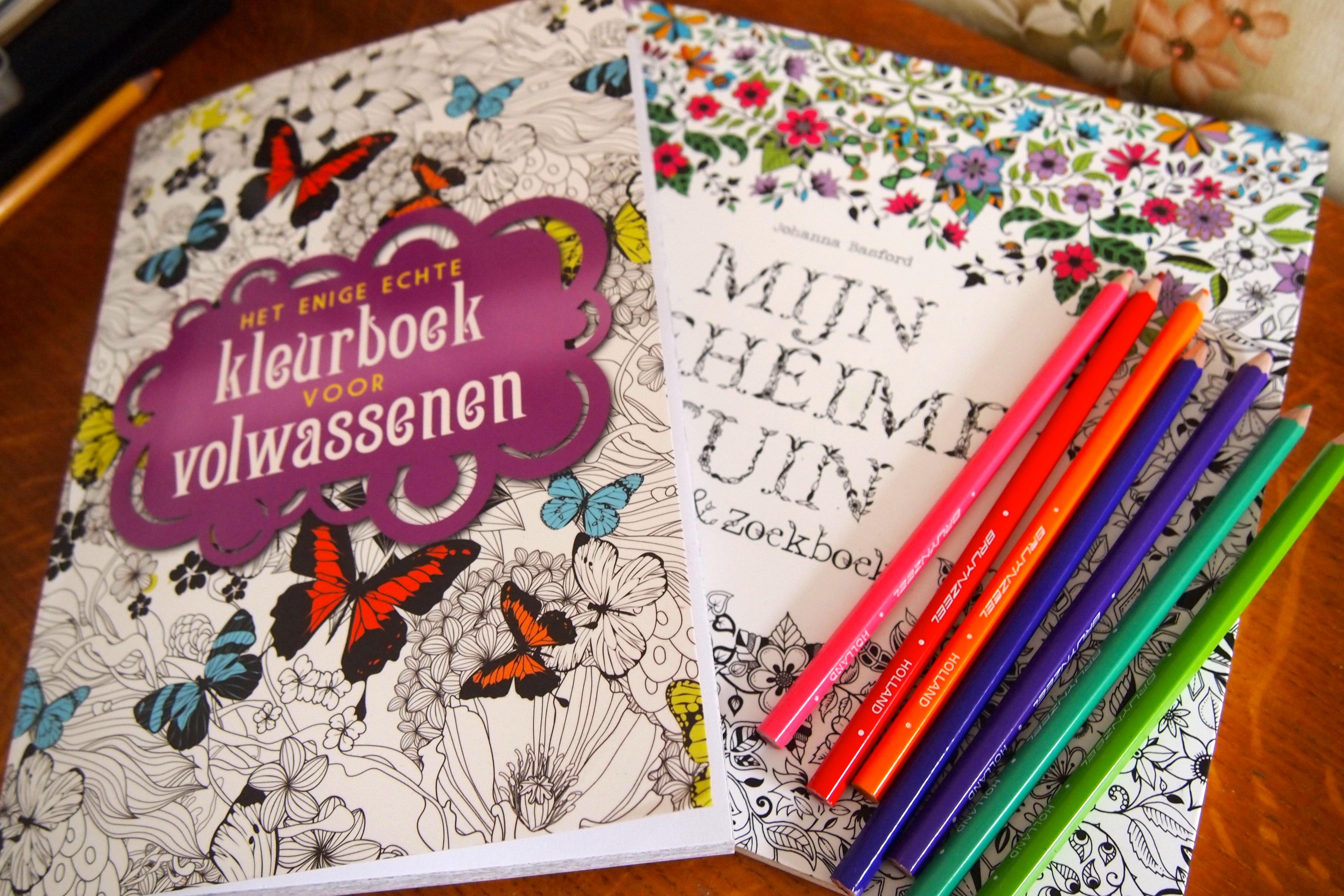 Kleurboeken Voor Volwassenen De Groene Meisjes