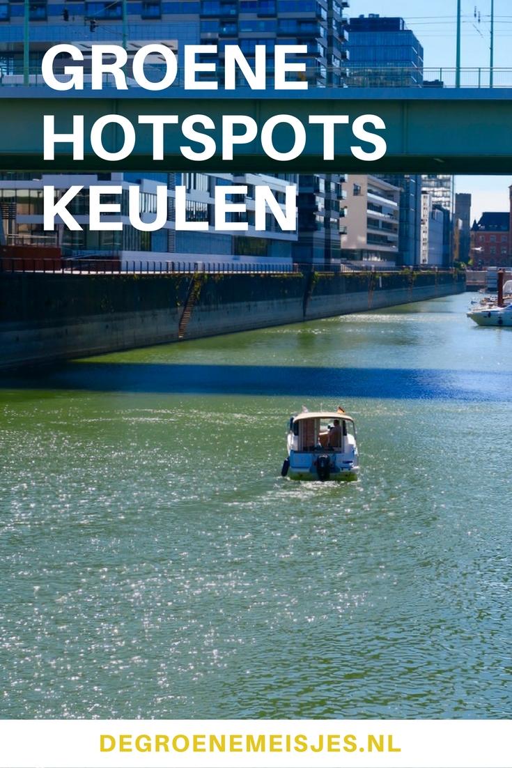 Reistips van De Groene Meisjes. Groene en vegan hotspots in Keulen Duitsland