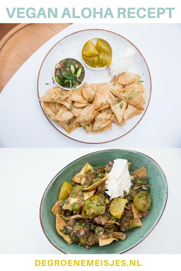 Recept: nachos met bloemkool couscous en salsa. Dit recept mag ik van de chef van restaurant Aloha in Rotterdam met jullie delen. Lees de stap-voor-stap uitleg. #vegan #nacho's #aloha
