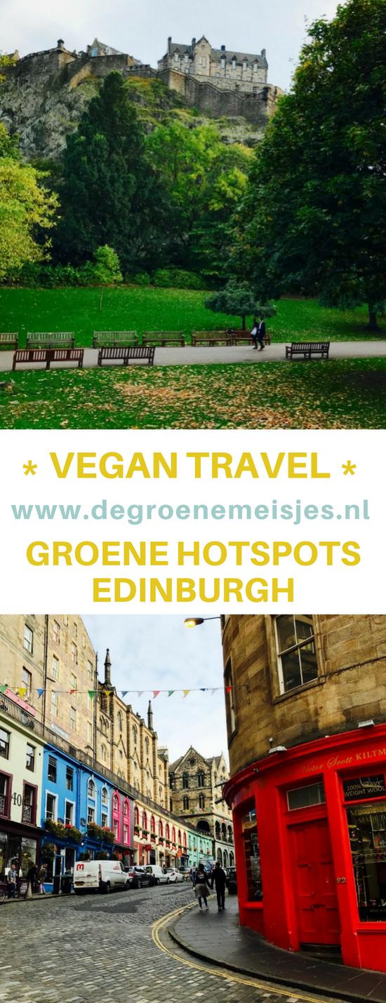 Ik was 3 dagen in Edinburgh en geef jullie mijn tips voor vegan adresjes, restaurants, koffietentje etc. Leuke stad voor weekendtrip, citytrip. #citytrip #Edinburgh #vegan