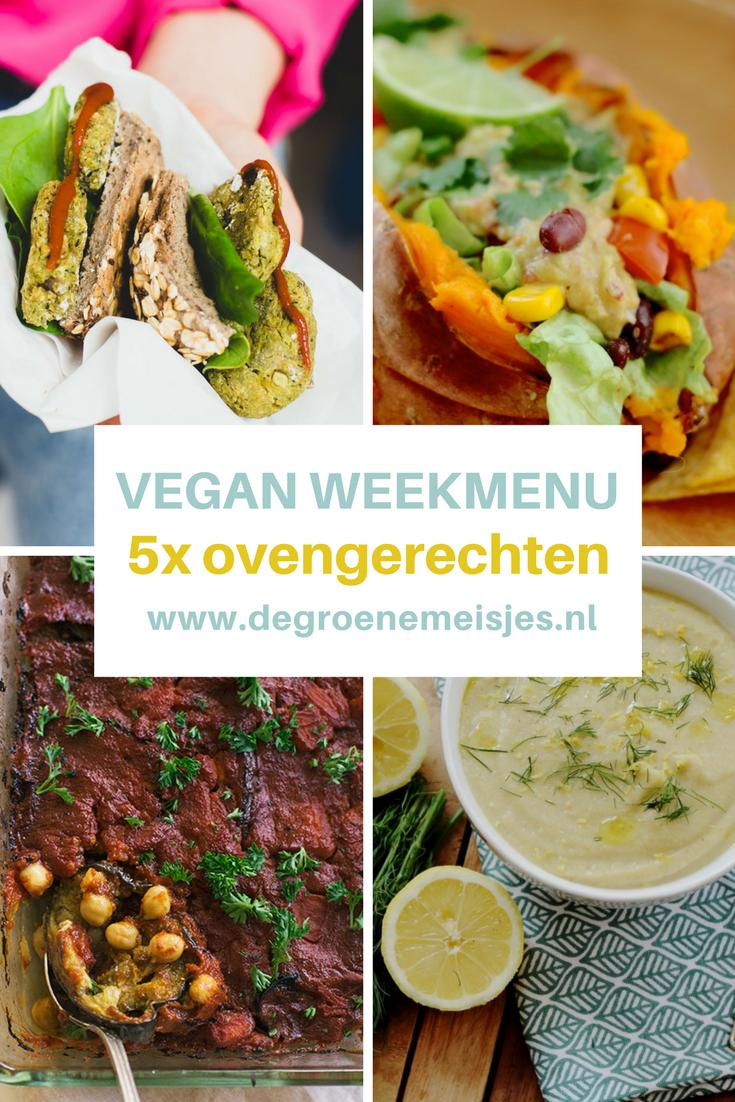 5 vegan ovengerechten omdat ovengerechten altijd lekker zijn. Ga snel naar de blog voor dit Vegan weekmenu.