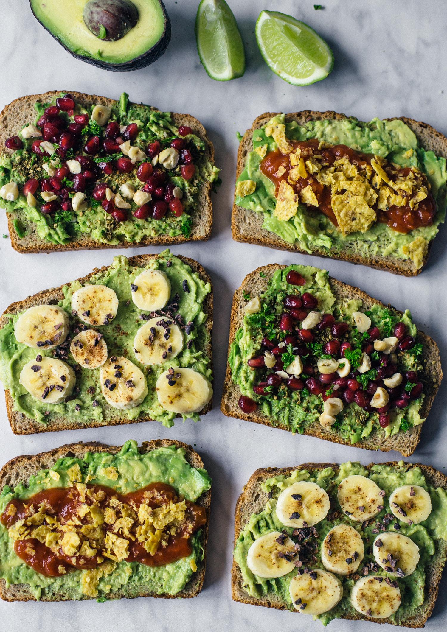 Avocado Toast Op 3 Manieren De Groene Meisjes