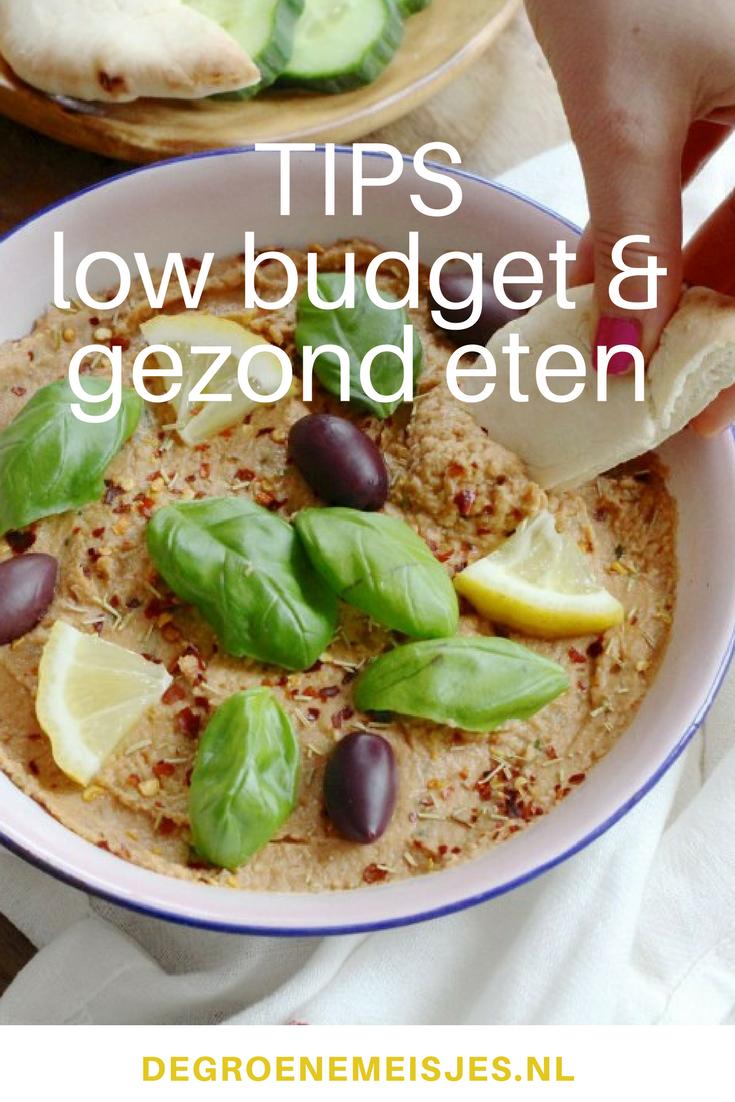 recepten en tips voor gezond en goedkoop eten #goedkoop #gezond #recepten