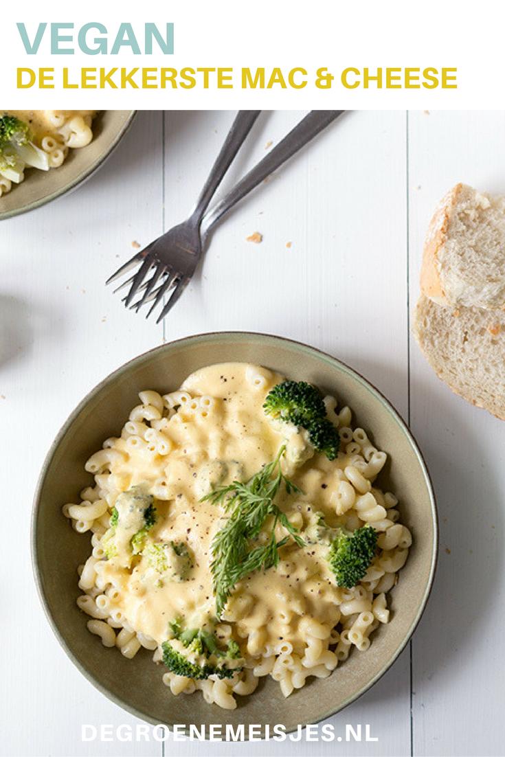 recept vegan mac & cheese. Je kunt de kaassaus ook gebruiken voor andere gerechten zoals ovenschotels, pastasalades