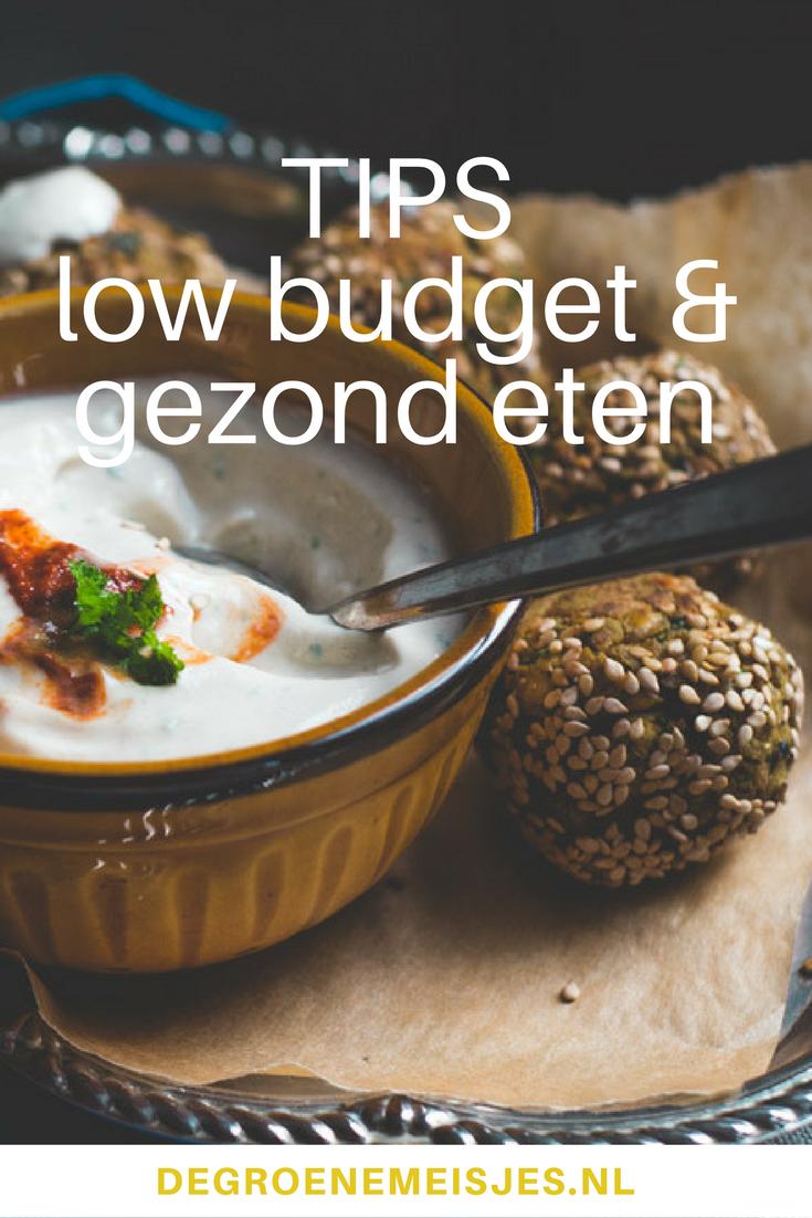 Recepten en tips voor gezond en goedkoop low budget eten #goedkoop #gezond #recepten