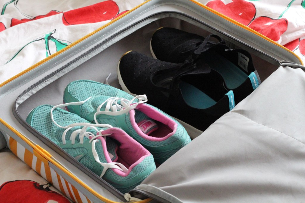 handiger koffer of backpack