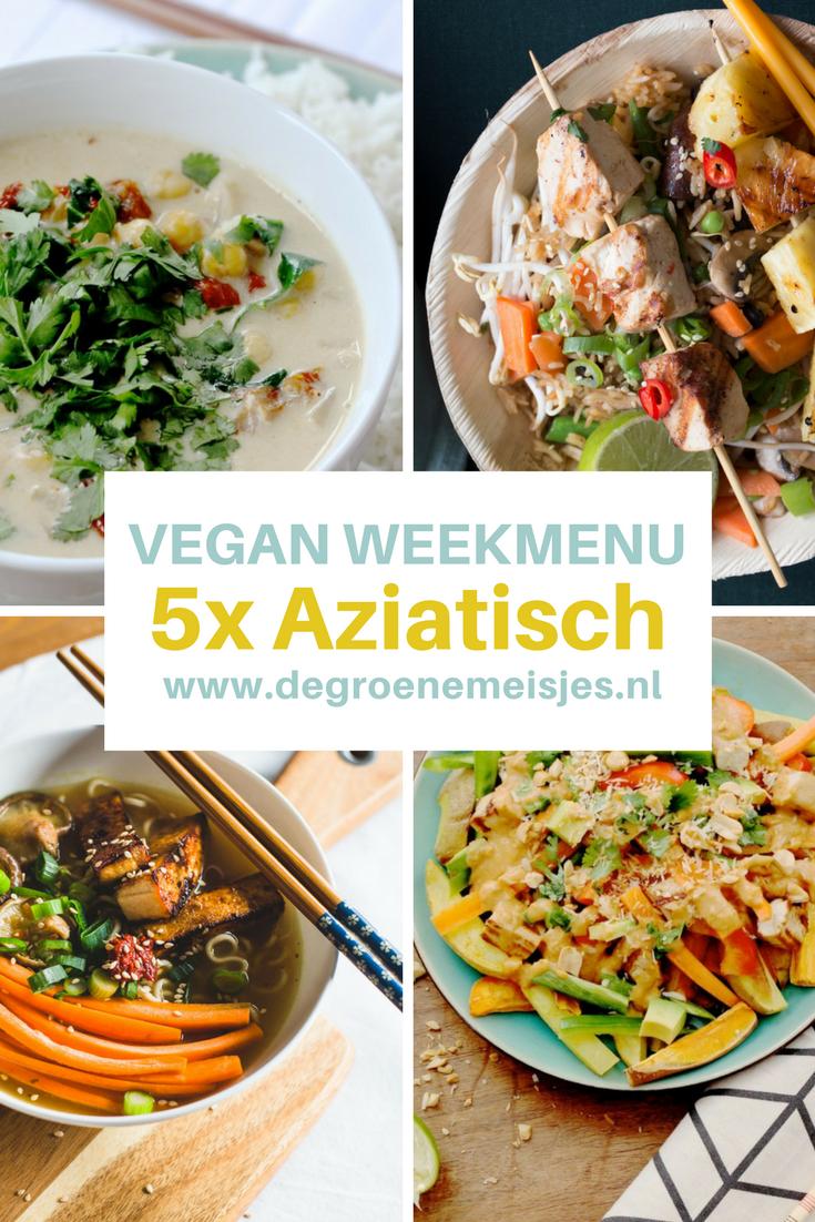 Deze week 5 heerlijke aziatische vegan recepten | Nasi goreng | kokos curry | ramen | noodlesoep| Vietnamese Bánh Mì. Lees de recepten op de blog.